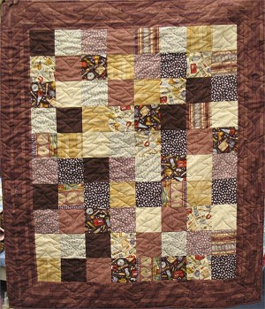 A Baby Cake Quilt Kit Block Option Sample -Tools