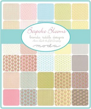 Bespoke Blooms Charm Pack, Brenda Riddle by Moda