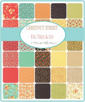 Chestnut Street Jelly Roll, Fig Tree by Moda