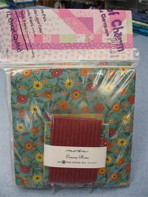 Coming Home (Deb Strain) 19503 18 Layers of Charm Plus 1 Quilt Kit