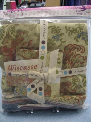 Wisscasset 14646-16 Layers of Charm Plus One Quilt Kit