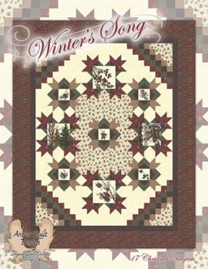 Winters Song Quilt Book Antler Quilt Designs