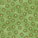 RJR Debbie Beaves Violet Wishes 478 004 Floral Circles Green