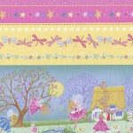 Magical Fairies 1040 001 Border Print, Kim Martin by RJR