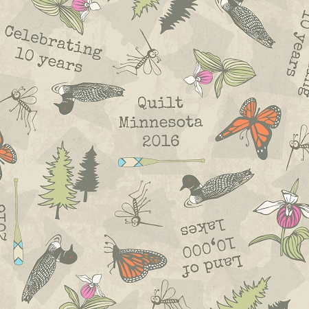 Quilt Minnesota 2016 Shop Hop, Clothworks