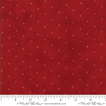 Stars and Stripes 1266 15 Starry Sky Red, Primitive Gatherings by Moda