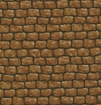 Moda Modascapes 15638 18 Bricks Brown Black