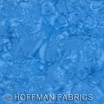 Hoffman Bali Batik Hand dyed Watercolors 1895 312 Atlantic