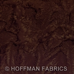 Hoffman Bali Batik Hand dyed Watercolors 1895 514 Brown Sugar