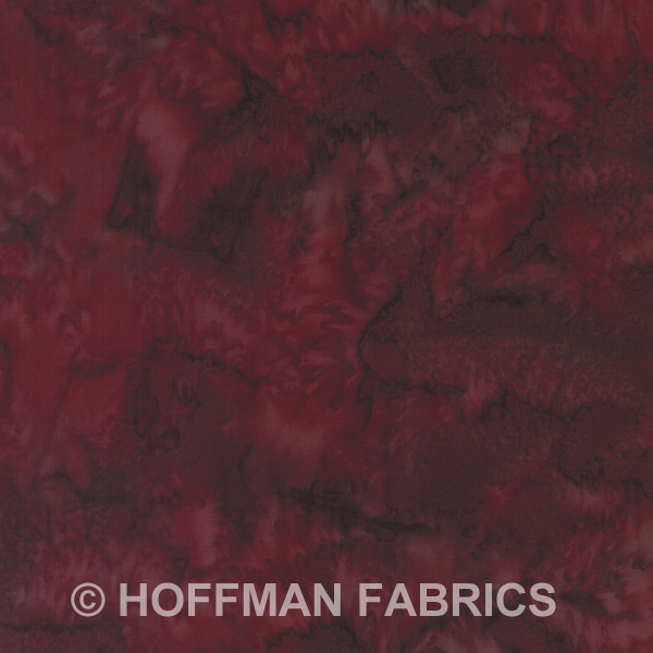 Hoffman Bali Batik Hand dyed Watercolors 1895 533 Nightshade
