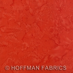 Hoffman Bali Batik Hand dyed Watercolors 1895 569 Crawfish