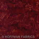 Hoffman Bali Batik Hand dyed Watercolors 1895 571 Barbeque