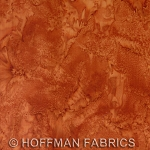 Hoffman Bali Batik Hand dyed Watercolors 1895 572 Bourbon