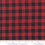 Holiday Lodge 19897 12 Buffalo Plaid Red, Deb Strain by Moda