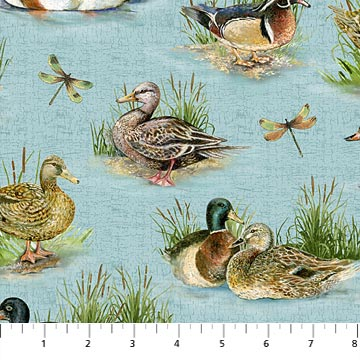Stoney River 21118 42 Ducks Aqua, Northcott