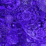 Bohemian Rhapsody 26956 V Deep Purple, Quilting Treasures