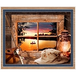 Artworks Sunset Lake 26983 X Panel, Quilting Treasures