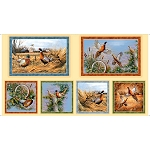 Pheasant Fields 27242 E Pheasant Picture Patches, Quilting Treasures