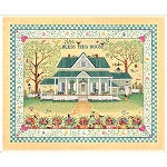 Bless This House 27295 S Panel, Quilting Treasures