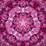 Gradients Kaleidoscope 33438 12P Pink Digital Panel, Moda