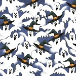 Windham Fabrics Fright Night 33662 X Ghosts
