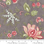 Porcelain 44190 12 Floral Jacobean Dove, 3 Sisters by Moda