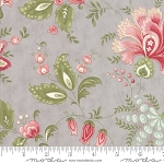 Porcelain 44190 13 Floral Jacobean Silver, 3 Sisters by Moda