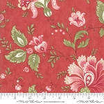 Porcelain 44190 16 Floral Jacobean Rose, 3 Sisters by Moda