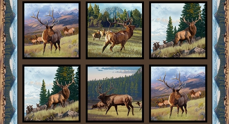 Earth Elk Digital Panel 5012E Earth, Elizabeths Studio