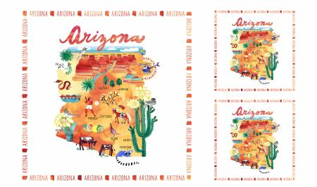 State Cotton Digital Panel Arizona 52126DP X, Windham