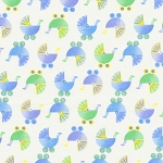 Sleepy Time Flannel 1402-25 Blue Buggies