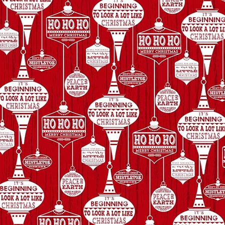 Holiday Traditions 6543 88 Red Ornaments, Jan Shade Beach by Henry Glass