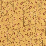 Maple Island 6612 17 Goldenrod Branches, Holly Taylor by Moda