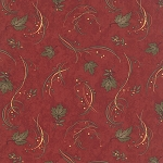 Maple Island 6614 11 Sumac Leaf Swirl, Holly Taylor by Moda