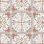Lake Moments Digital Multi Canoe Tile, Camelot Fabrics