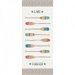 Lake Moments Digital 18 Inch Canoe Panel, Camelot Fabrics