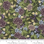 Fresh Off the Vine 6761 13 Floral Dark Green, Holly Taylor by Moda
