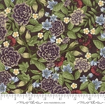 Fresh Off the Vine 6761 17 Floral Brown, Holly Taylor by Moda