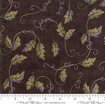 Fresh Off the Vine 6764 17 Leaves Vines Brown, Holly Taylor by Moda