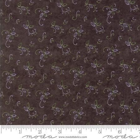 Fresh Off the Vine 6765 17 Bouquet Brown, Holly Taylor by Moda