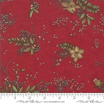 Winter Manor 6771 15 Floral Red, Holly Taylor by Moda