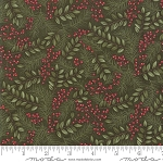 Winter Manor 6772 14 Winter Greens Green, Holly Taylor by Moda