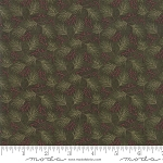 Winter Manor 6773 14 Mini Pine Green, Holly Taylor by Moda