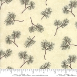 Frosted Flannels 6782 15F Pine Boughs Cream, Holly Taylor by Moda