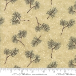 Frosted Flannels 6782 16F Pine Boughs Tan, Holly Taylor by Moda