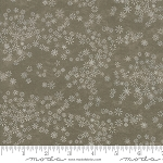 Frosted Flannels 6784 11F Snowflakes Light Green, Holly Taylor by Moda