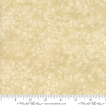 Frosted Flannels 6784 16F Snowflakes Cream, Holly Taylor by Moda