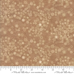 Frosted Flannels 6784 17F Snowflakes Tan, Holly Taylor by Moda