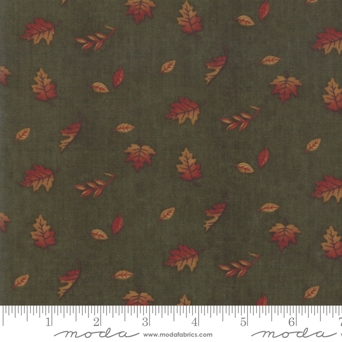 Country Charm 6793 15 Mini Leaf Green, Holly Taylor by Moda