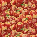 Apple A Day 68763 335 Red Packed Apples Wilmington Prints